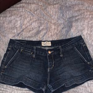 Pants - Abercrombie and Fitch jean shorts